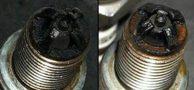 Tips atasi busi basah motor fizr