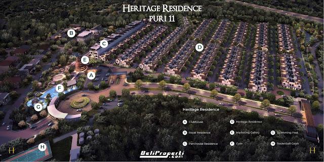 masterplan puri 11 heritage residence
