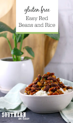 Healthy Red Beans and Rice Recipe Gluten Free