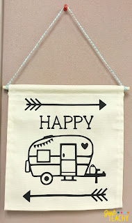 camping-theme-wall-hanging