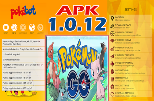 Descargar Pokemon Go - Pokebot apk