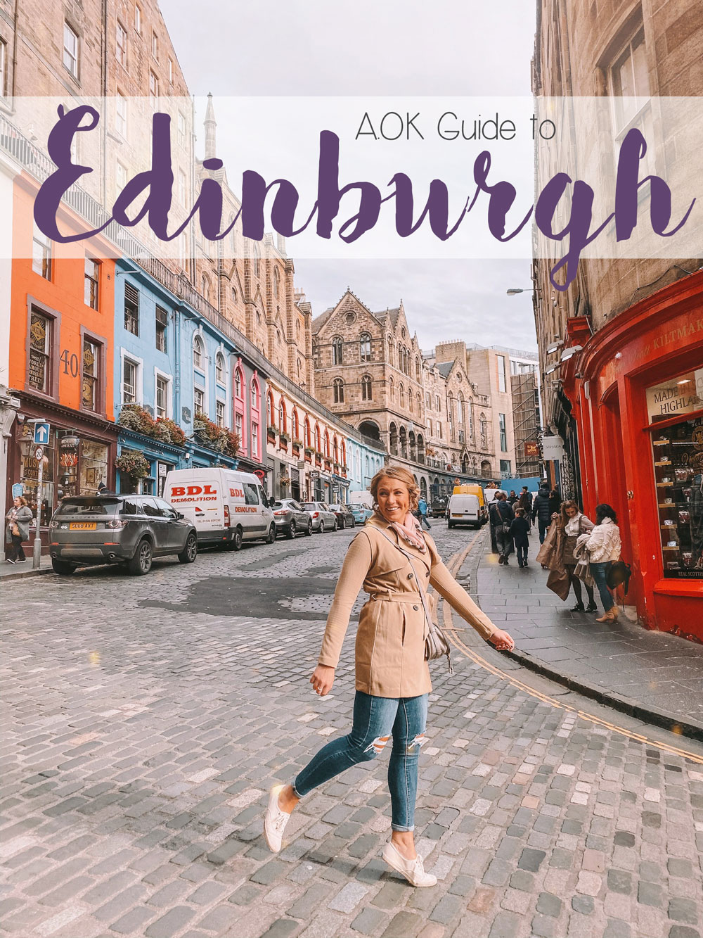 Blogger Amanda Martin's guide to Edinburgh