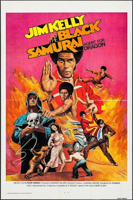 Poster for Al Adamson's BLACK SAMURAI featuring Jim Kelly!
