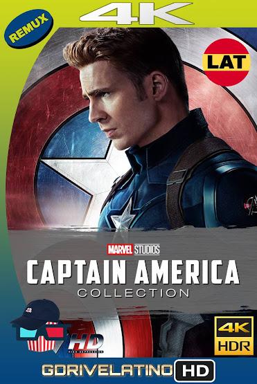 Capitán América Colección (2011-2016) BDRemux 4K Latino-Ingles MKV