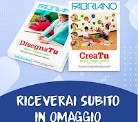 Logo Cartoleria Italiana : in omaggio gratis una pochette ''Crea tu'' o risma ''Disegna tu''