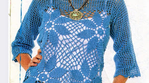 Maravillosa blusa y muy fácil de confeccionar - con esquemas