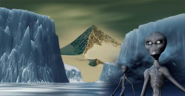 Những bí ẩn của Nam Cực: 'Nền văn minh biến mất, Kim tự tháp, UFO cùng những căn cứ bí mật'