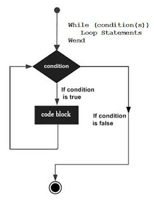 Flow Diagram of VBA - While Wend Loops Shout 4 Education