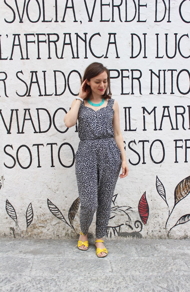 Marigold jumpsuit - sewing pattern from Tilly and the Buttons
