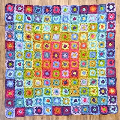 Attic24 'Aria' blanket in progress