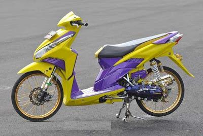 Honda Vario Techno Eye Catching Modifikasi  Kumpulan