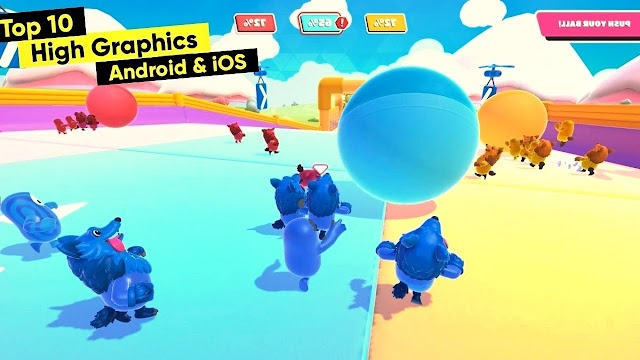 Top 10 New High Graphics Games for Android & iOS 2020