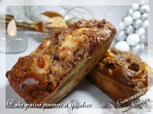 cake gratiné pommes spéculoos