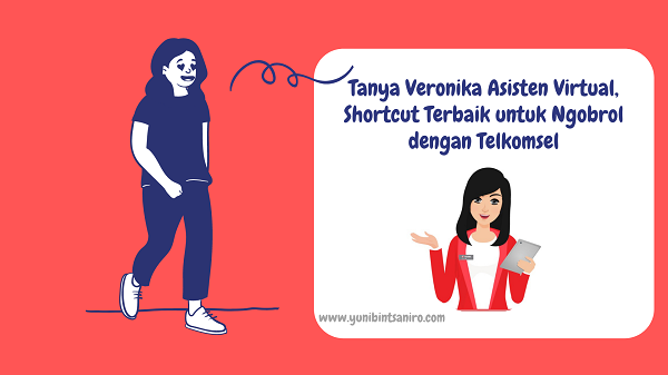 Tanya Veronika Asisten Virtual Telkomsel