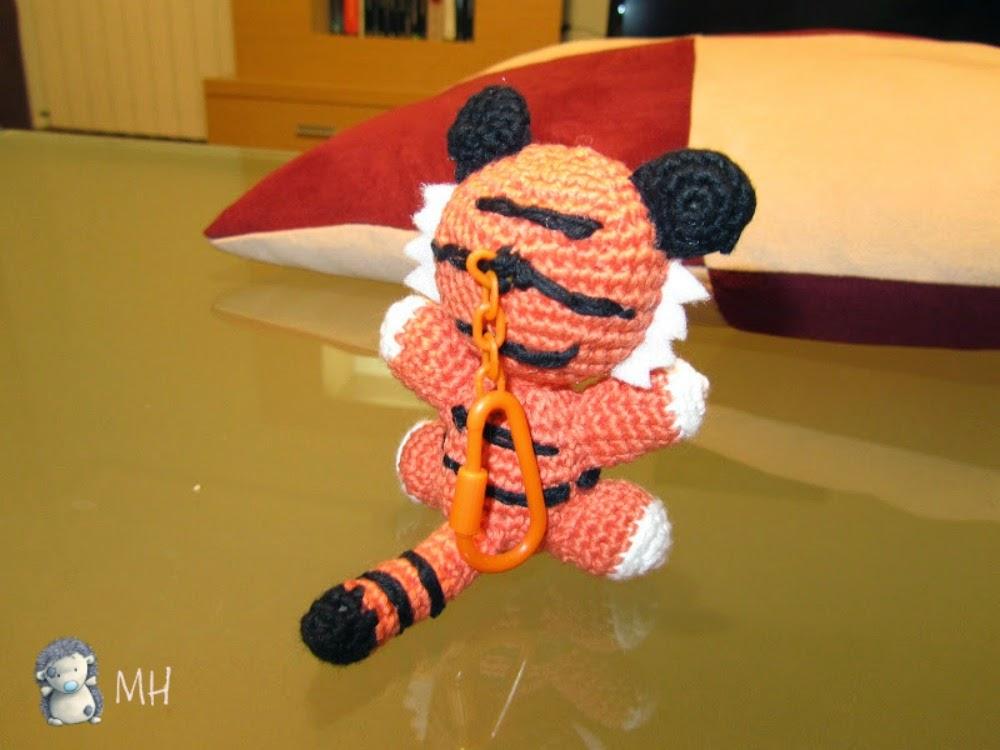 Adorable tigrecito amigurumi