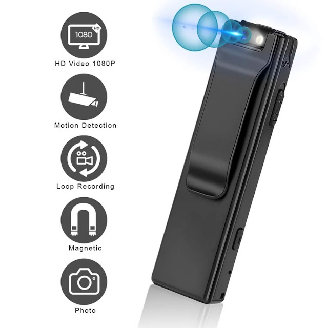 5 MP HD Mini Magnetic Pen Camera from Machpro