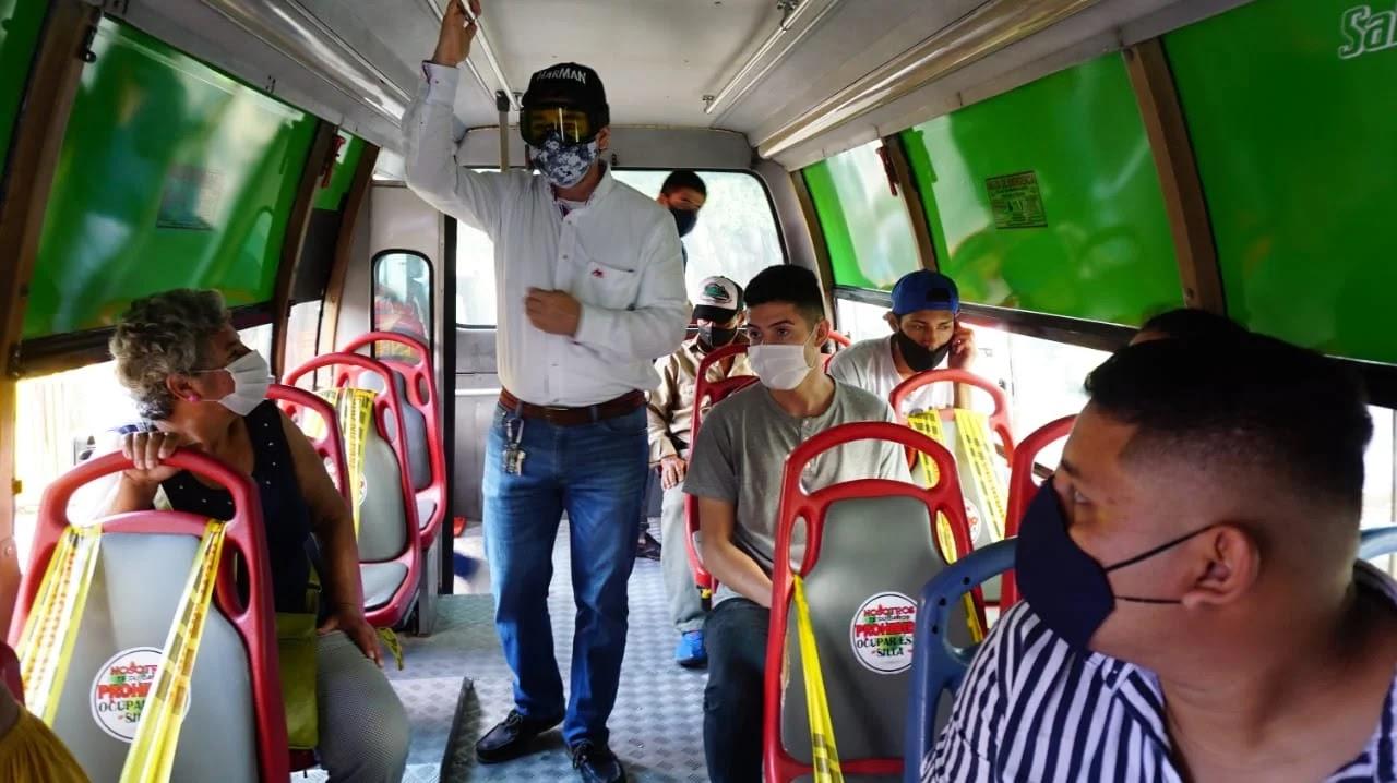El transporte público colectivo en Villavicencio, en hora pico, excede la ocupación autorizada por el Gobierno nacional