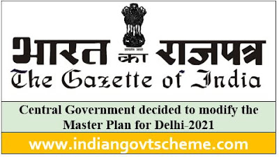 Master Plan for Delhi-2021