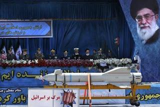 Irã faz desfile militar e ameaça: 'Morte a Israel'