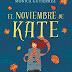"""El noviembre de Kate"" de Mónica Gutiérrez"
