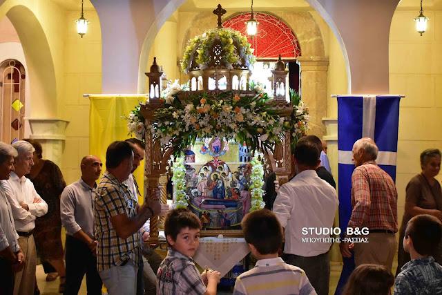 Η εορτή της Παναγίας στο Αργολικό Ναυπλίου (βίντεο)