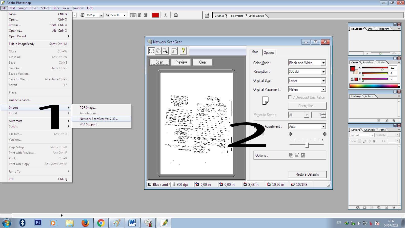 Cara Untuk Menghubungkan Mesin Fotocopy iR Canon Sebagai Scaner Ke ...