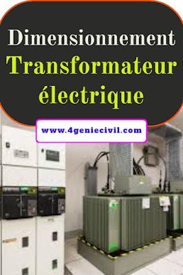 Dimensionnement transformateur électriques en pdf