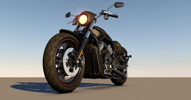 Natural Harley Davidson Bike