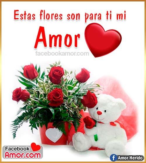 peluche de amor con flores de rosas rojas