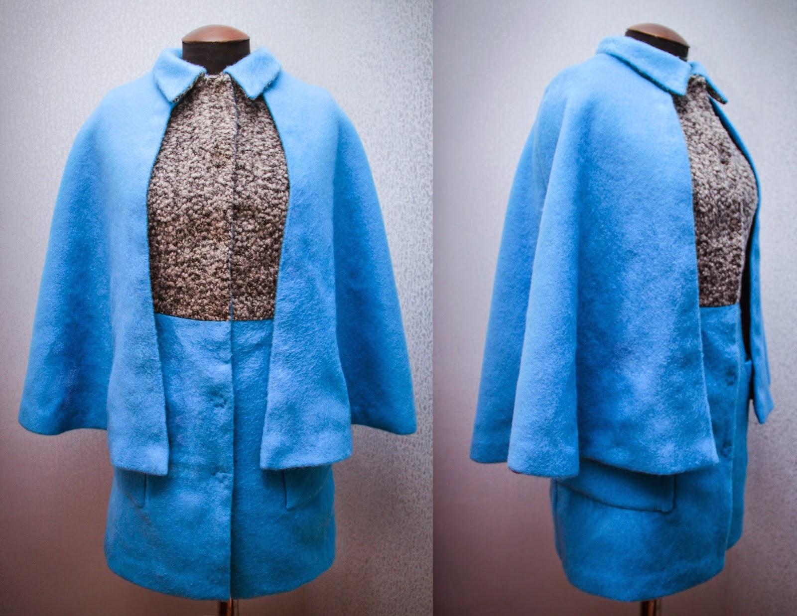 Пальто сшить мастер класс с фото