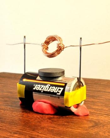 Contoh Dan Dasar Karya Ilmiah Cara Membuat Motor Elektrik Sederhana Pendidikan Dan Sains