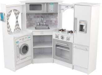 Kidkraft Ultimate Corner Play Kitchen Set Kitchen Idea - Kidkraft ultimate corner play kitchen with lights and sounds