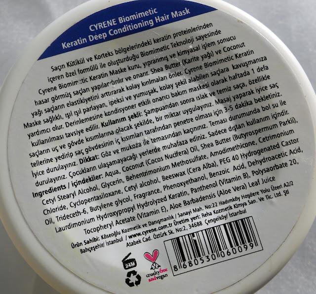 CYRENE-Biomimetic-Keratinli-Saç-Maskesi