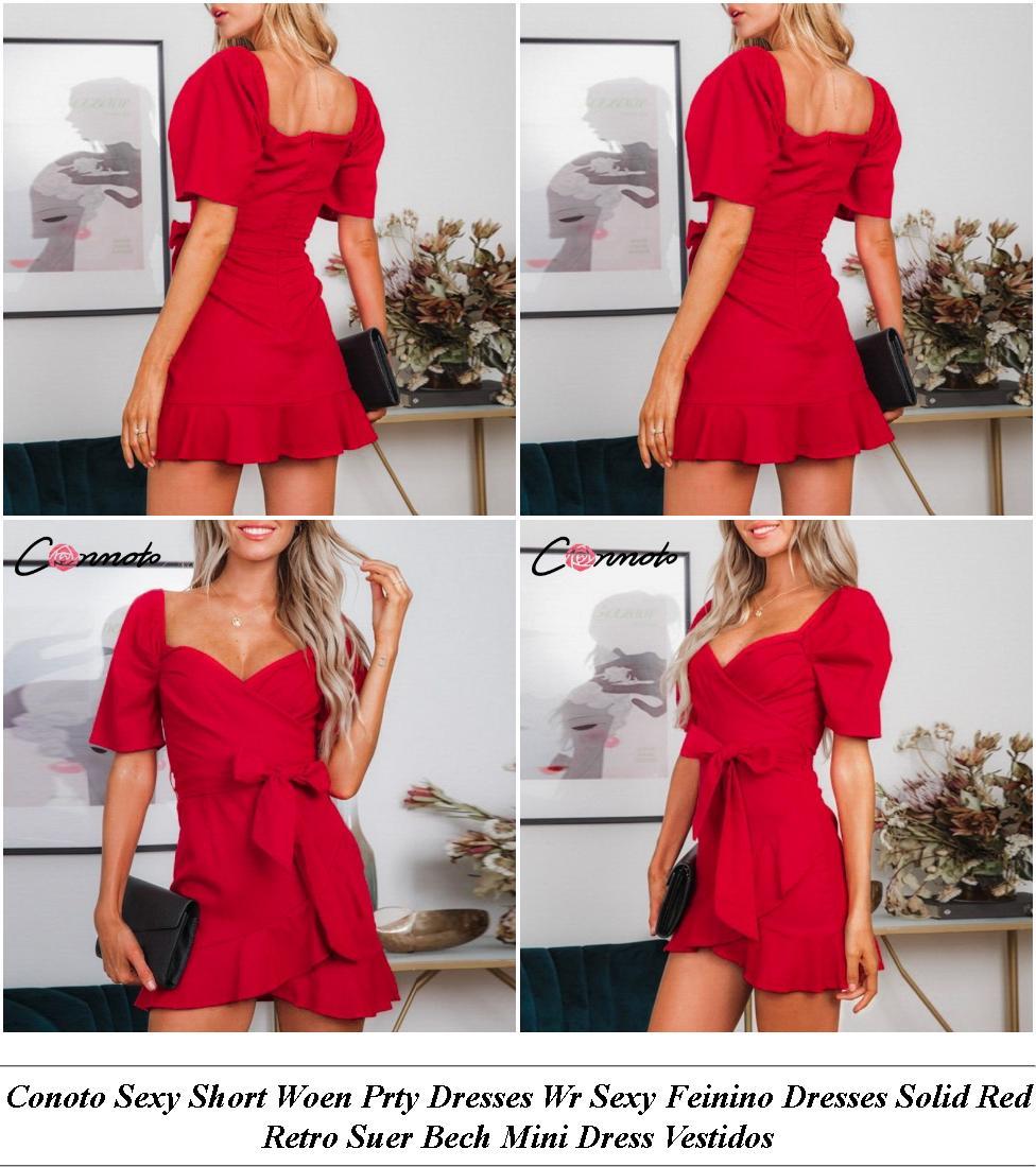 Evening Dresses - Online Shopping Sale - Floral Dress - Cheap Ladies Clothes