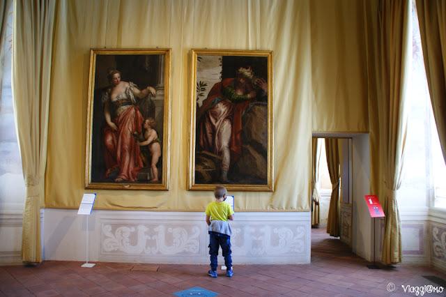 I quadri del cinquecento e seicento in mostra alla Reggia di Venaria
