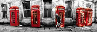 Cabinas de teléfono, Londres