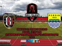 Bali United vs Persib : Bali Island Cup 2016