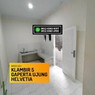 Dapur Rumah Murah Ready 2,5 Lantai Hanya 400 Jutaan Komplek Anissa Lala Klambir 5 Gaperta Ujung Helvetia Medan