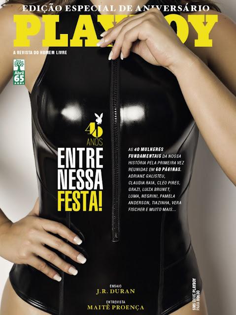 40 mulheres nuas peladas na Playboy