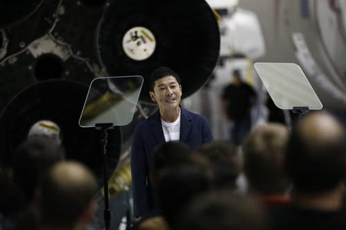 The Japanese billionaire is looking for someone to go with him to the moon