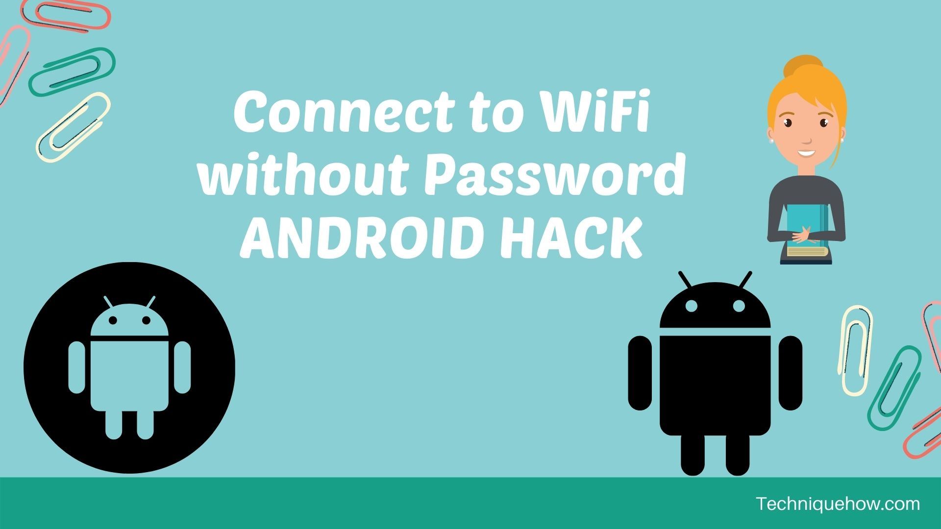 Connect to WiFi without Password ANDROID HACK