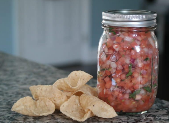 Fresh Tomato Salsa Recipe  #vegetarian #tomato #recipes #dinner #vegan