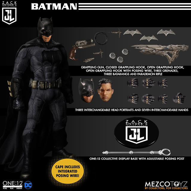 Mezco One12 Collective Zack Snyder's Justice League Deluxe Steel Boxed Set