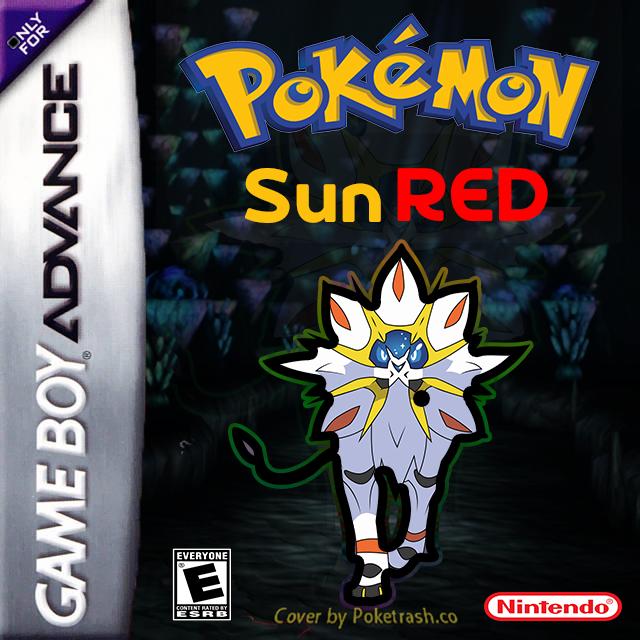Pokemon Sun Red gba
