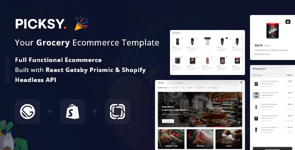Grocery eCommerce Template