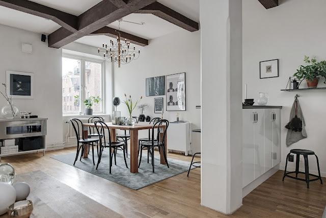 Very lovely scandinavian flat