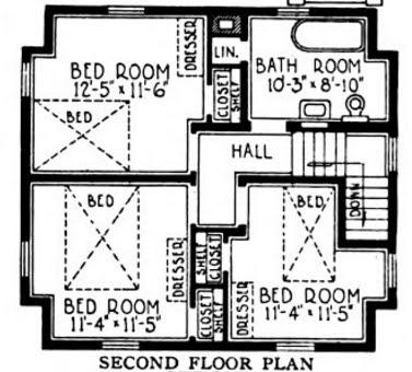 Marvelous Second Floor Sears Van Dorn Image courtesy of Google Books