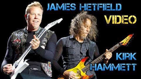 James Hetfield y Kirk Hammett: Biografía y Equipo
