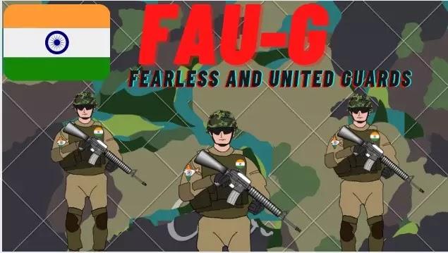 FAU-G Fearless and UnitedGuards-fauji game