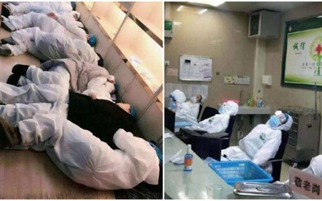 Nhiễm virus corona tập thể tại một cơ sở y tế ở Vũ Hán
